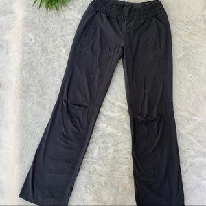 Lululemon gray pants subtle stripes 4